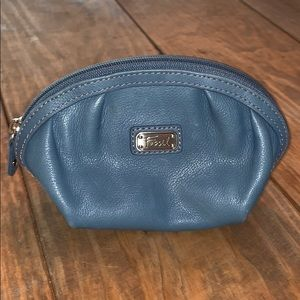 Fossil | Small Leather Cosmetic Bag